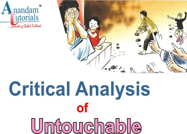critical analysis of untouchable