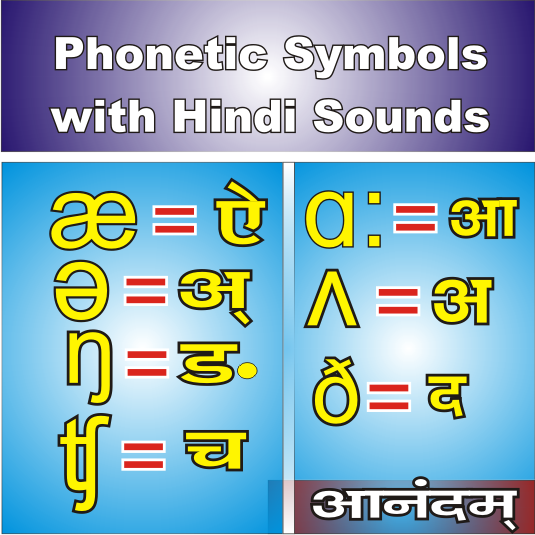 phonetic script with hindi sounds