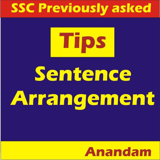 ssc jht sentence arrangement tips