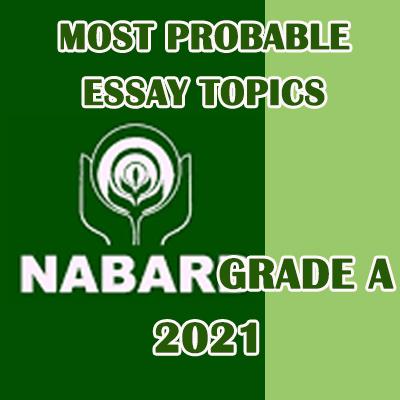 nabard rajbhasha adhikari important essay topics
