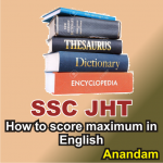 SSC JHT English preparation