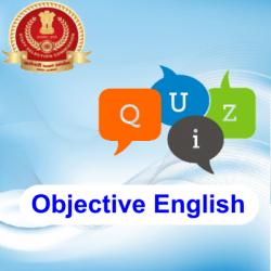 Objective English quiz