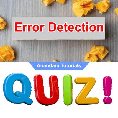 Error detection quiz 1